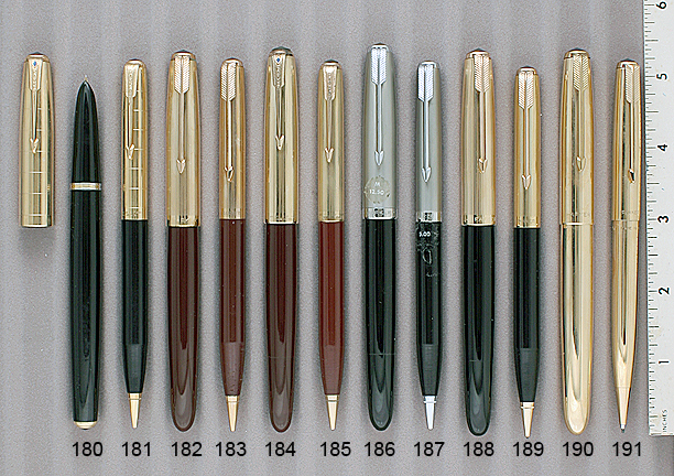 Ref.# 4821 Parker 51 Reproduction Pearly Grey Jewel for Fountain Pen Caps