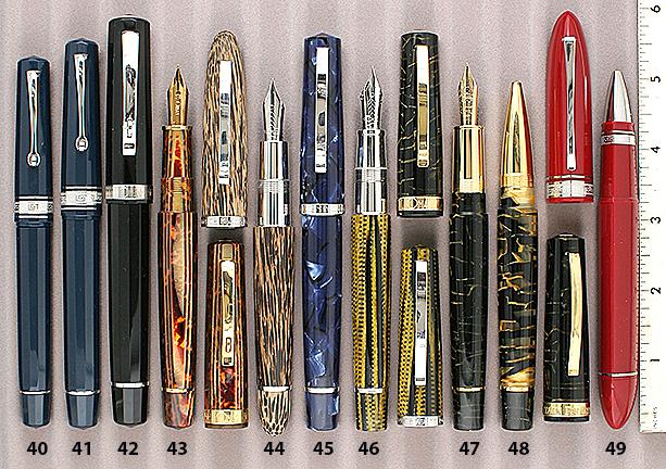 NOS 5 Sheaffer Connoisseur Fountain Pen Or Rollerball Body End Black Tassies