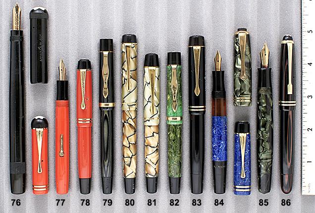 Vintage Pen Catalog 90 Section 8