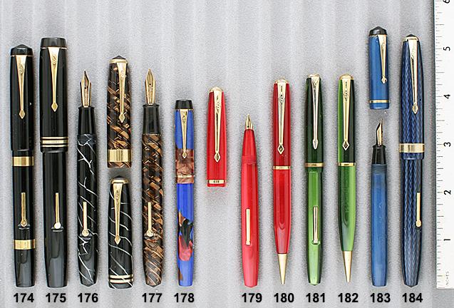 Vintage Pen Catalog 90 Section 17