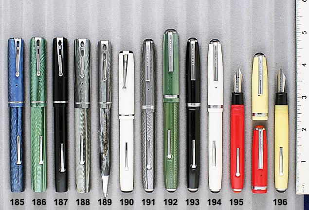 Vintage Pen Catalog 90 Section 18