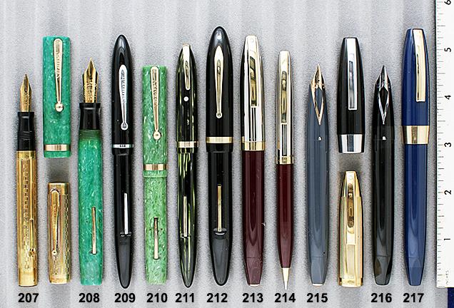 Vintage Pen Catalog 90 Section 20