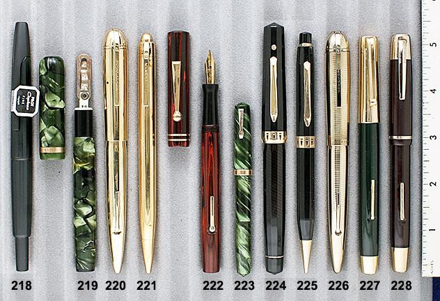 Vintage Pen Catalog 90 Section 21