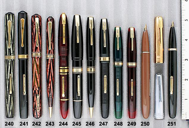 Vintage Pen Catalog 90 Section 23