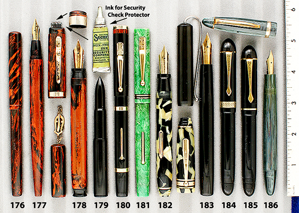 Vintage Pen Catalog 92 Section 17