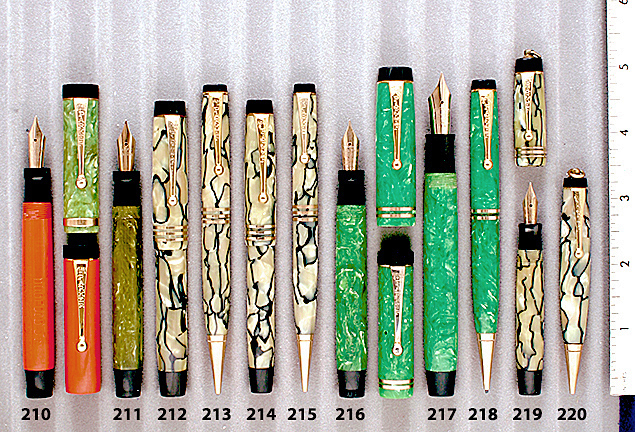 Vintage Pen Catalog 92 Section 20