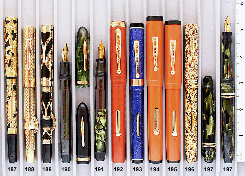 Vintage Pen Catalog 94 Section 19