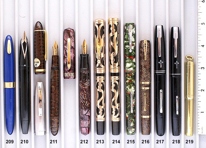 Vintage Pen Catalog 94 Section 21