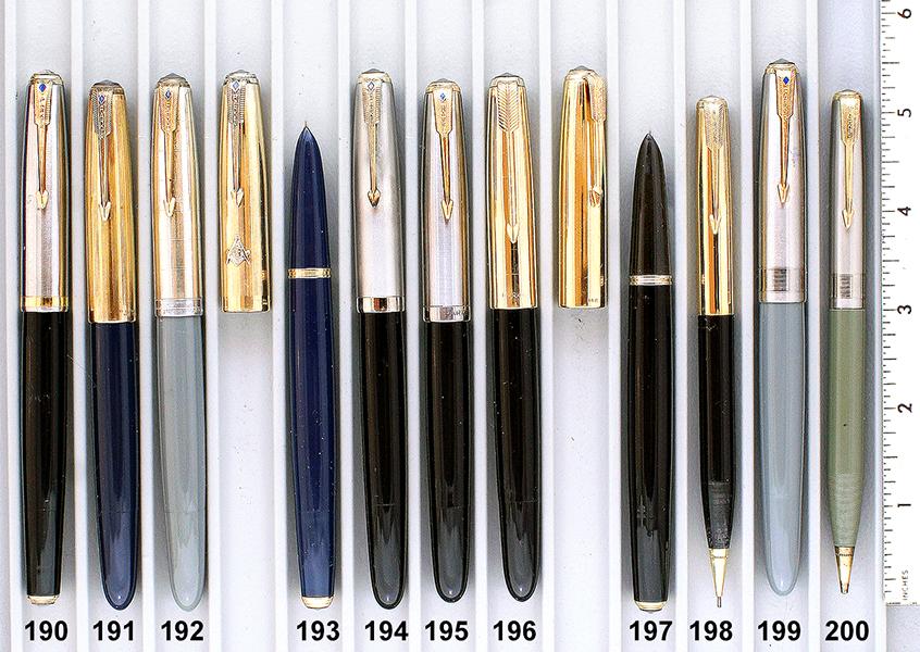Vintage Pen Catalog 95 Section 19