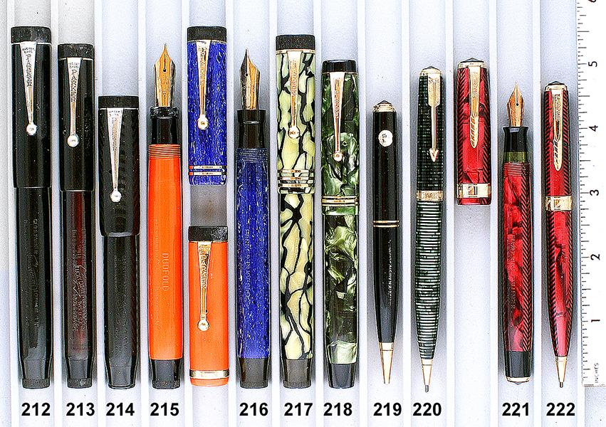 Vintage Pen Catalog 95 Section 21