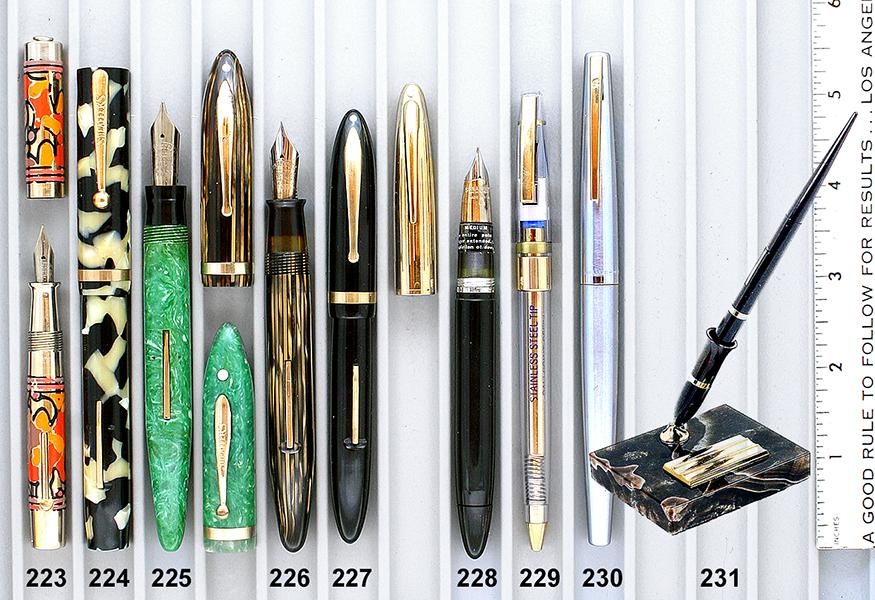 Vintage Pen Catalog 95 Section 22