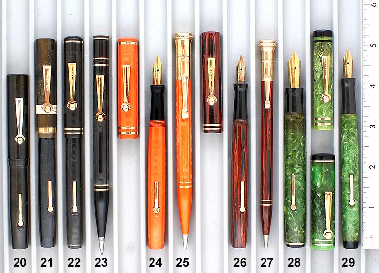 Vintage Pen Catalog 96 Section 3