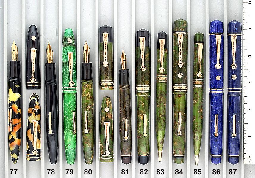 Vintage Pen Catalog 96 Section 8