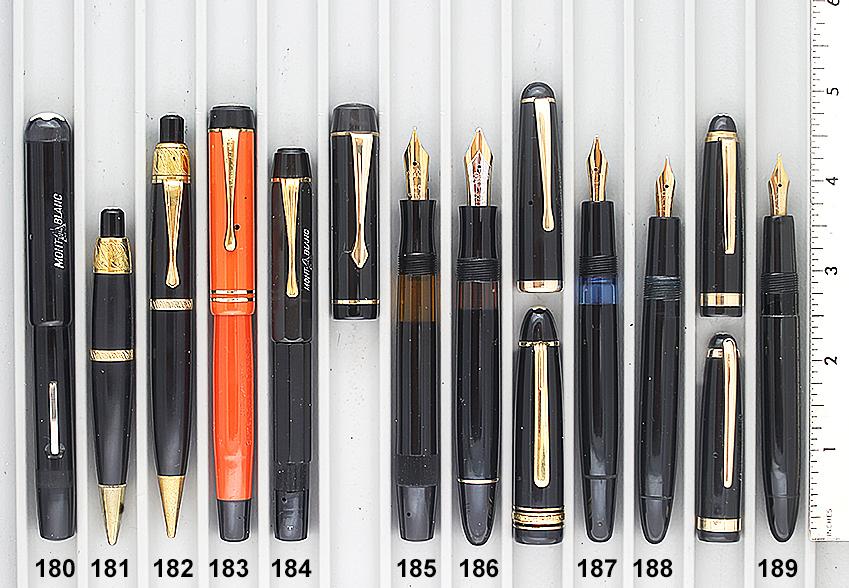 Vintage Pen Catalog 96 Section 18