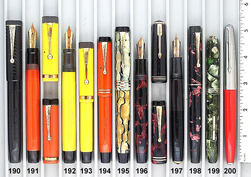 Vintage Pen Catalog 96 Section 19
