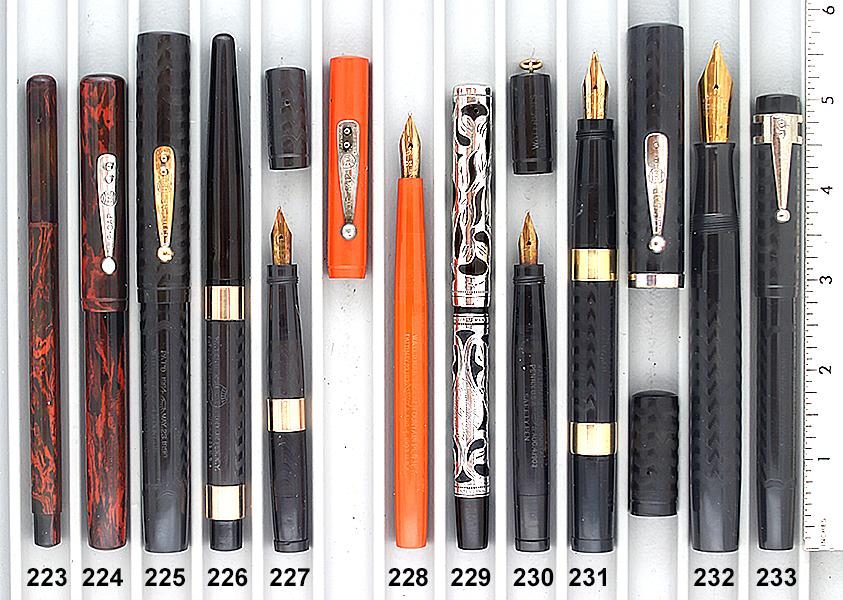 Vintage Pen Catalog 96 Section 22