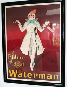 "Cappiello Waterman ""Two-faced Clown"", Vintage Pen, Vintage Pens"