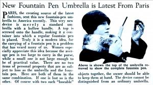 UmbrellaPen
