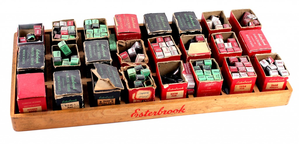 Nib Selection-Storage Tray
