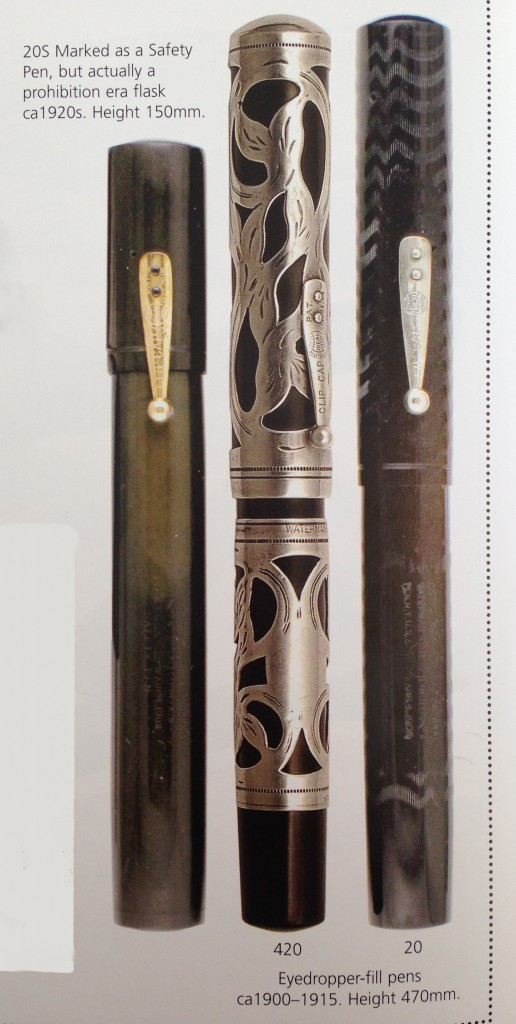 Waterman: Past and Present Max Davis & Gary Lehrerhttps://www.gopens.com/Vintage_Pen_Parts/WatermanBook.php