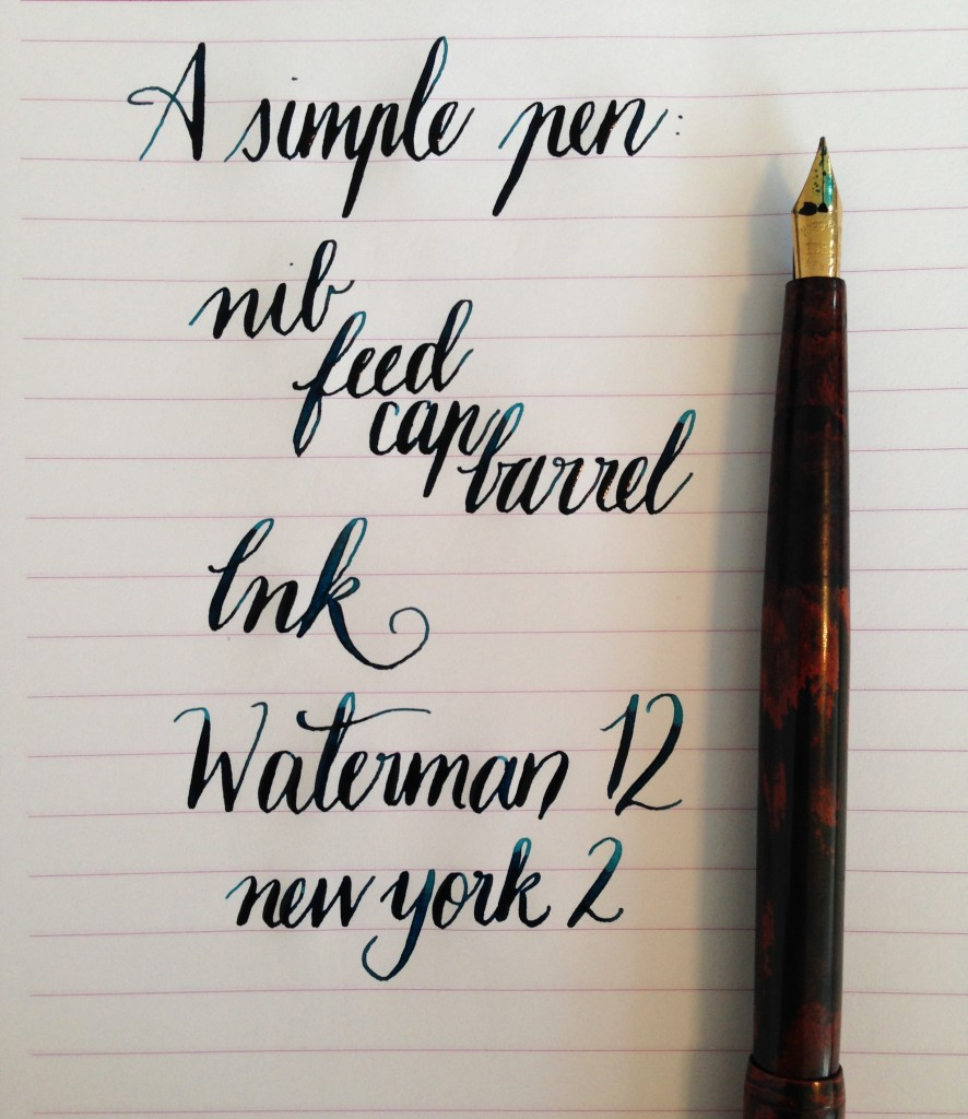 Handwritten Post. A Simple Pen