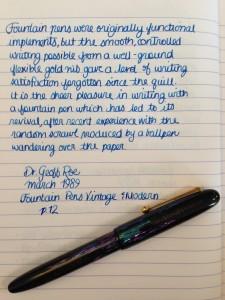 Handwritten Post The Random Scrawl of Ballpoints