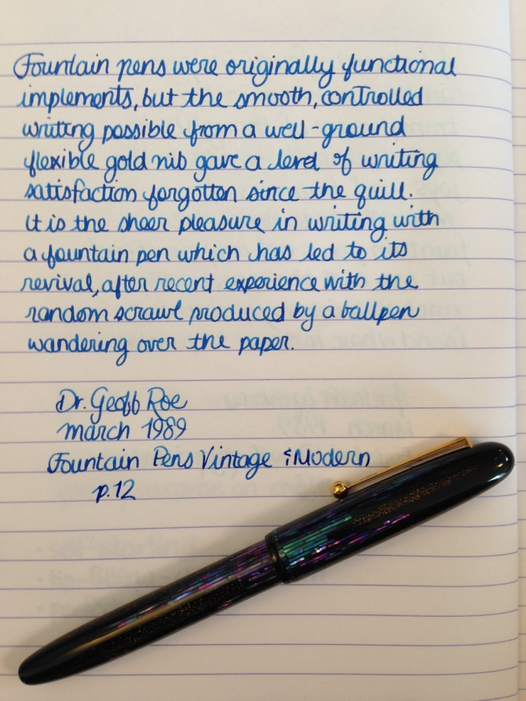 Handwritten Post - The Random Scrawl of Ballpoints