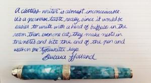 Handwritten Post Catless Writers