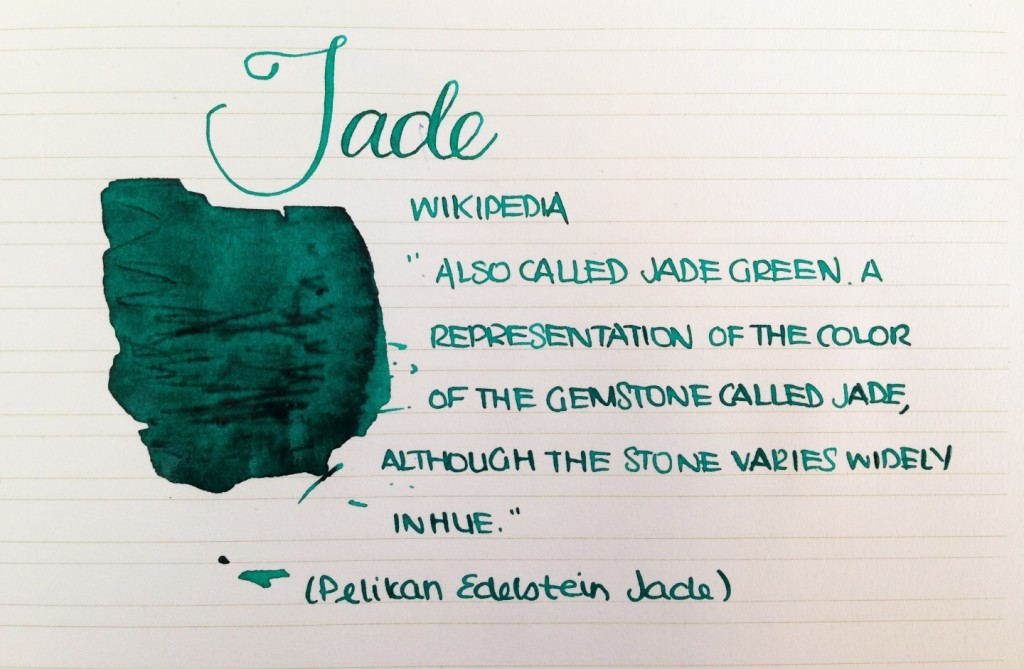 Handwritten Post - Jade