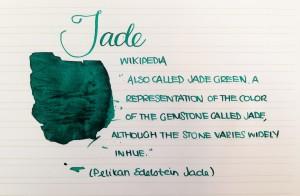 Handwritten Post Jade
