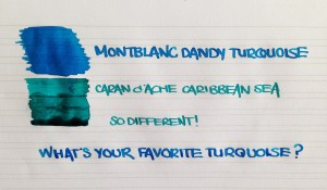Handwritten Post Whats Your Turquoise