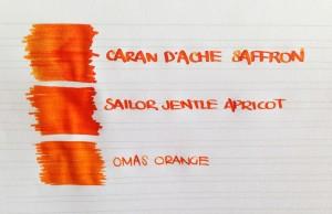 Handwritten Post Kill Winter With Orange
