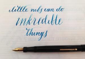 Handwritten Post Little Nibs Inkredible Things