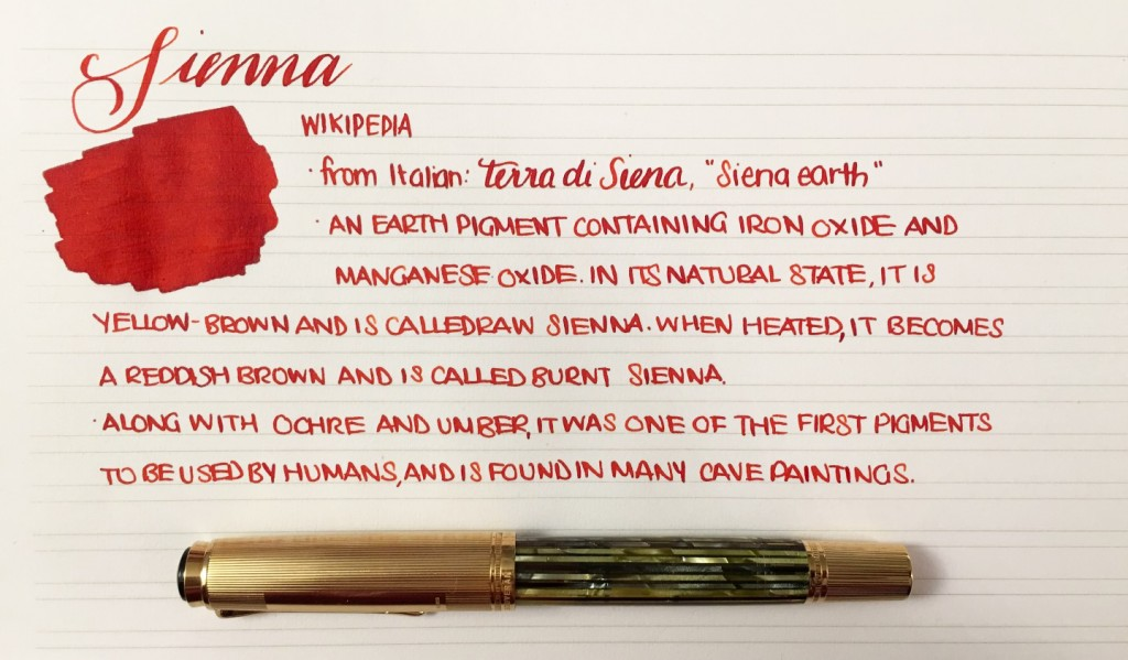 Handwritten Post - Sienna