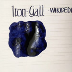 Handwritten Post - Iron-Gall Changes Before