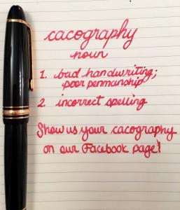 Handwritten Post Cacography