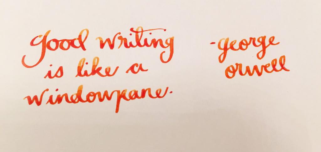 Handwritten Post - Good Writing