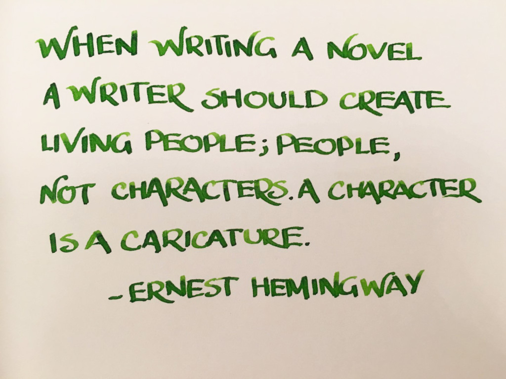 Handwritten Post - Hemingway's Creations
