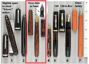 Extraordinary Pens - La Plume D'Or Bibax