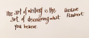 Handwritten Post Why Do You Write