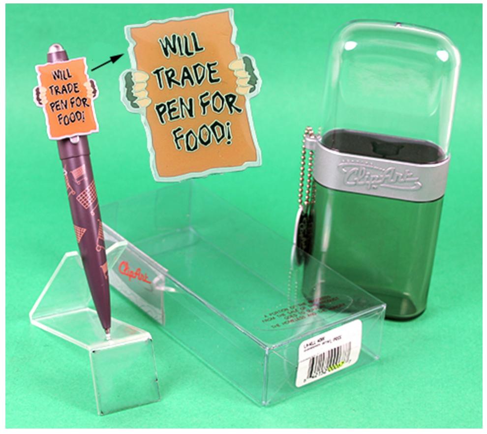 Clip Art Will Trade Pen For Food