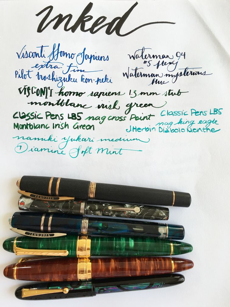 Currently Inked October 1, 2016