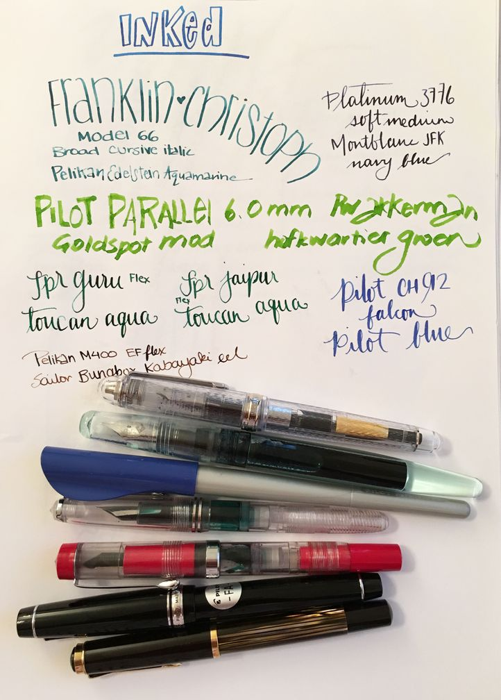 Currently Inked October 15, 2016