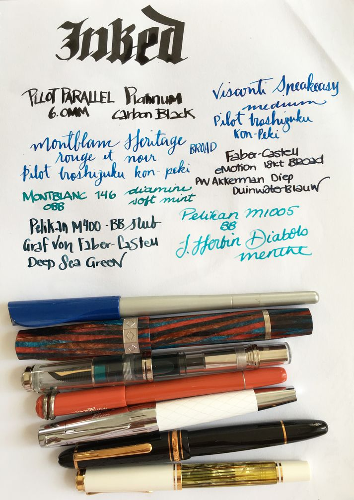 Currently Inked September 24, 2016