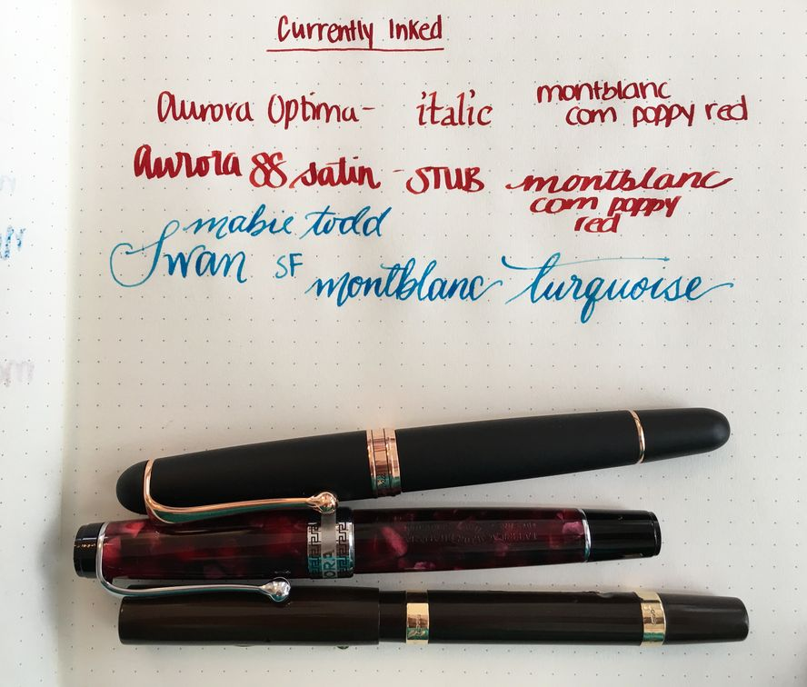 Currently Inked - December 17, 2016