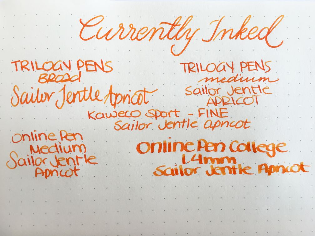 Currently Inked - December 3, 2016