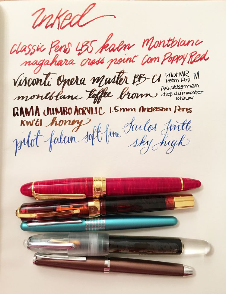 Currently Inked - October 29, 2016
