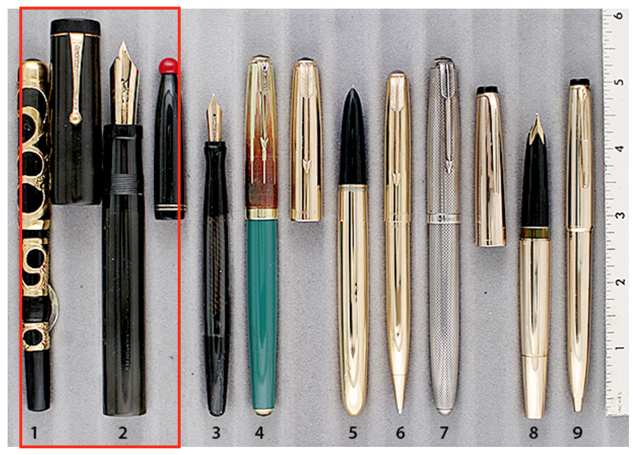 Extraordinary Pens - Parker Black Giant