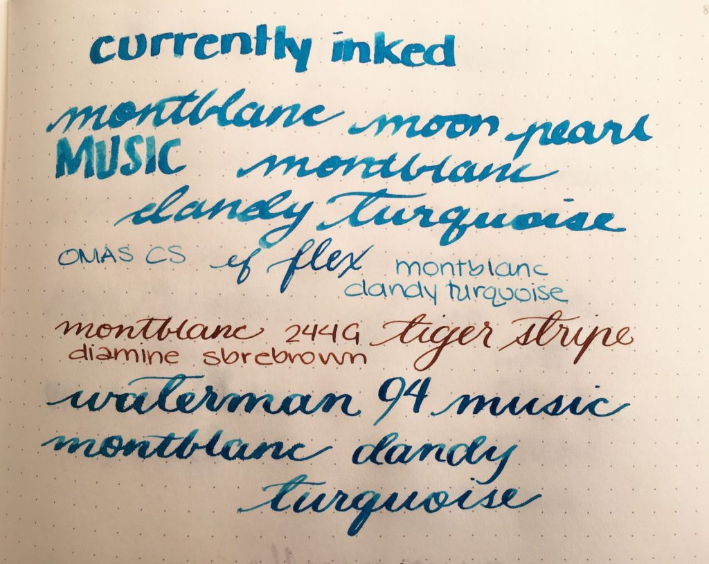 Currently Inked - March 11. 2017