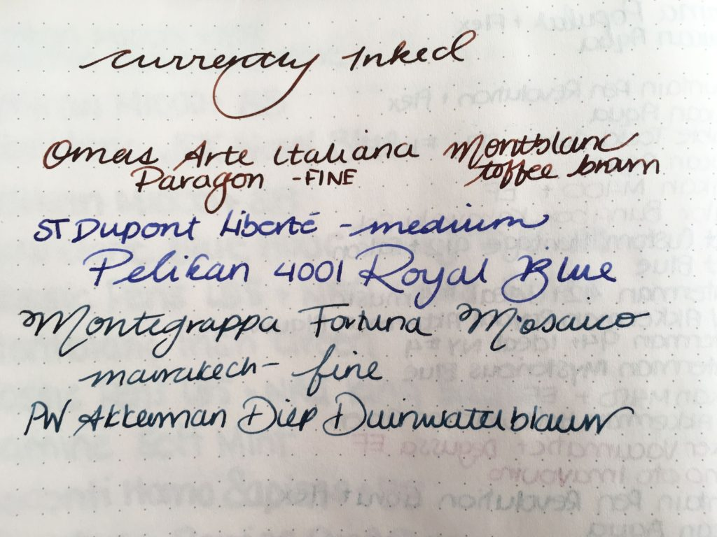 Currently Inked - March 4. 2017